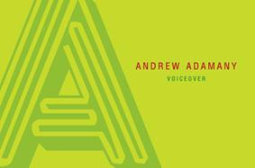 Andrew Adamany Voice OVER