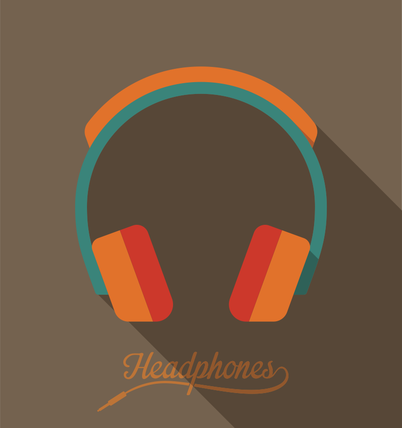 Headphones-brown