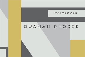 Quanah Rhodes Voice Over