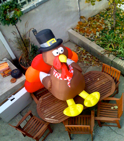 Thanksgiving BlowUp Turkey